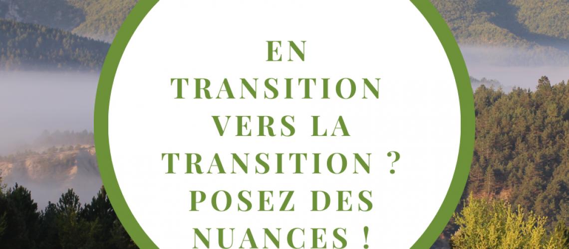 Reconversion pro et Transition